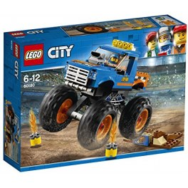 LEGO City 60180 - Blauer Monster-Truck