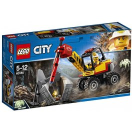 LEGO City 60185 - Power-Spalter für Bergbauprofis
