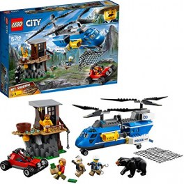 LEGO City 60173 - Bergpolizei Festnahme in den Bergen