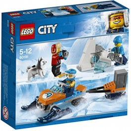 LEGO City 60191 - Arktis-Expeditionsteam mit Schneemobil