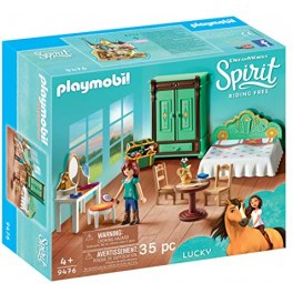 PLAYMOBIL Spirit-Riding Free (9476)  - Luckys Schlafzimmer