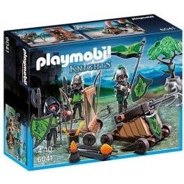 Playmobil 6041 - Wolf Ritter mit Catapult