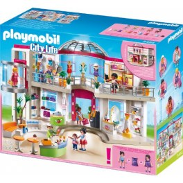 Playmobil City Life 5485 - Shopping-Center mit Einrichtung