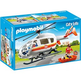 Playmobil City Life 6686 - Rettungshelikopter