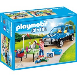 Playmobil City Life 9278 - Mobiler Hundesalon