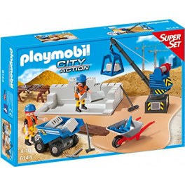 Playmobil City Action 6144 - Baustellenset