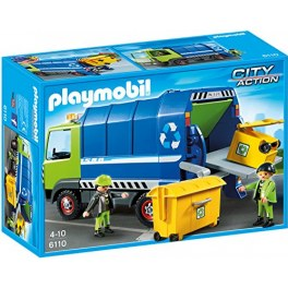 Playmobil City Action 6110 - Recycling-Truck mit Müllcontainer