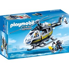 Playmobil City Action 9363 - SEK-Helikopter
