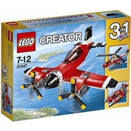 LEGO Creator 31047 - Propeller-Flugzeug in rot