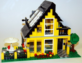 ferienhaus von lego creator 4996. Black Bedroom Furniture Sets. Home Design Ideas