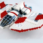 Lego Star Wars 7931 - T6 Jedi Shuttle