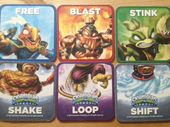 skylanders swap force figuren