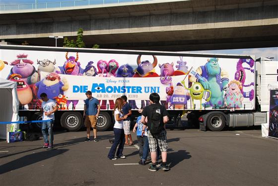 Der Monster University Truck