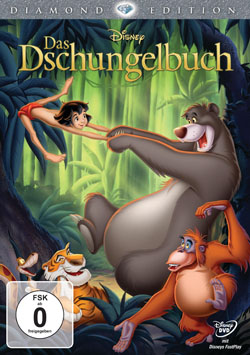 Das Dschungelbuch DVD Diamond Edition Cover