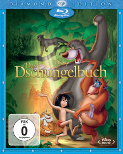 Das Dschungelbuch Blu-ray Diamond Edition Cover