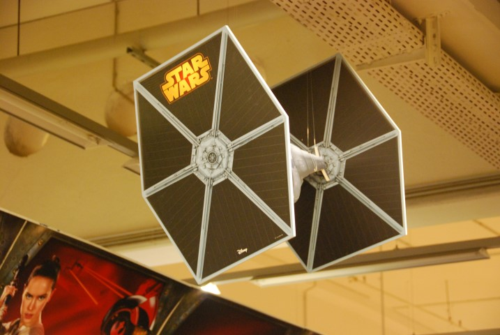 Tie Fighter Modell zur Deko