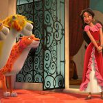"ELENA OF AVALOR - ""First Day of Rule"" - Elena officially becomes crown princess and rescues her sister, Isabel, from Noblins, elf-like shapeshifting creatures based on a Chilean peuchen myth. (Disney Channel) SKYLAR, MIGS, LUNA, ELENA"