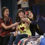 "BIZAARDVARK - ""Superfan"" - Paige and Frankie feel like they've officially ""made it"" when they discover that they have their very first superfan, Belissa! This episode of ""Bizaardvark"" airs Sunday, July 24 (8:30 - 9:00 P.M. EDT) on Disney Channel. (Disney Channel/Carol Kaelson) OLIVIA RODRIGO, MAYA JADE FRANK, MADISON HU"