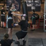 """BIZAARDVARK - """"Unboxing"""" - When Dirk leads the gang in a circle of truth exercise, Frankie learns Paige has been secretly taking MMA lessons and decides to join in on the fun. This episode of """"Bizaardvark"""" airs Sunday, August 07 (9:00 - 9:30 P.M. EDT) on Disney Channel. (Disney Channel/Eric McCandless) OLIVIA RODRIGO, ETHAN WACKER"""