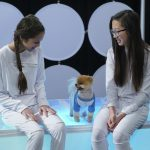 "BIZAARDVARK - ""The Collab"" - Frankie and Paige try to boost their subscriber level by collaborating with popular Vuuugle stars Victor of ""Prank Town"" and JiffPom. This episode of ""Bizaardvark"" airs Sunday, July 31 (8:30 - 9:00 P.M. EDT) on Disney Channel. (Disney Channel/Eric McCandless) OLIVIA RODRIGO, JIFFPOM, MADISON HU"
