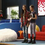 "BIZAARDVARK - ""First"" - Frankie and Paige begin to second guess their talents as they struggle to come up with ideas for a video they feel is good enough to present during their first VidView party at Vuuugle. The premiere episode of ""Bizaardvark"" premieres FRIDAY, JUNE 24 (9:45 p.m., EDT) on Disney Channel. (Disney Channel/Nicole Wilder) MADISON HU, OLIVIA RODRIGO"
