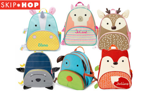 Kinderrucksäcke von Skip Hop Zoo Collektion Zoo Pack mit Tiermotiven
