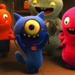 Wang Leehom stars as Lucky Bat, Wanda Sykes stars as Wage, Pitbull stars as Ugly Dog, Gabriel Iglesias stars as Babo and Kelly Clarkson stars as Moxy in UglyDolls Courtesy of STXfilms