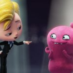 Nick Jonas stars as Lou and Kelly Clarkson stars as Moxy in UglyDolls Courtesy of STXfilms