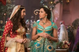 Nasim Pedrad is Dalia, the free-spirited best friend and confidante of Princess jasmine (Naomi Scott) in Disney's ALADDIN, Guy Ritchie's live-action adaptation of the studio's animated classic.