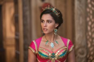 Naomi Scott is Jasmine in Disney's live-action ALADDIN, directed by Guy Ritchie.